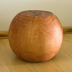 @Overstock.com - Mango Wood Ball End Table (Thailand) - Add an interesting touch to your living room, office, or den with this ball wood end table. Made of exotic mango wood, this table will attract the attention of your guests. It has a natural oil finish that will complement any decor.   http://www.overstock.com/Worldstock-Fair-Trade/Mango-Wood-Ball-End-Table-Thailand/6627364/product.html?CID=214117 $242.99