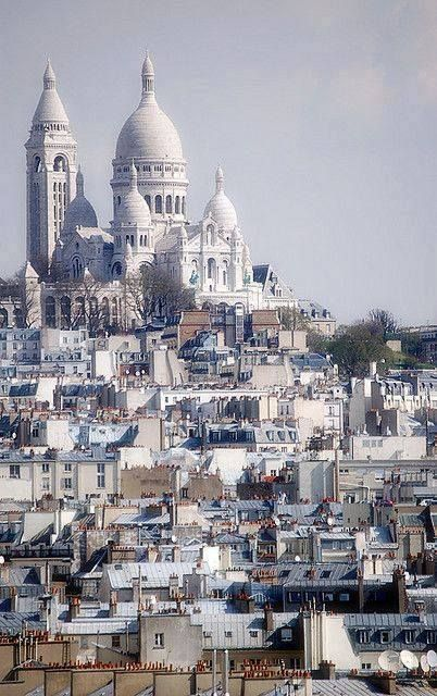 .Sacre Qeur, Montmartre, Paris