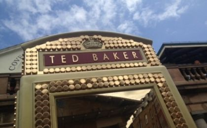 Ted Baker London Phone Box Design with BT