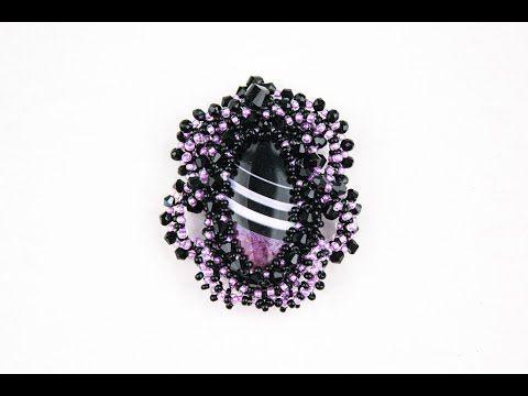 Кулоны с камнями (Сложно, Часть 2/3) - YouTube