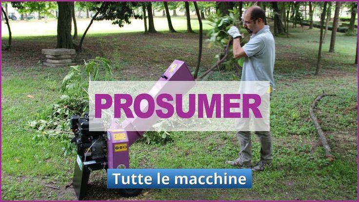 prodotti per hobbisti esigenti linea prosumer Agrinova macchina agricoltura e giardinaggio