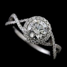 17 Best ideas about Infinity Wedding Rings on Pinterest Pretty