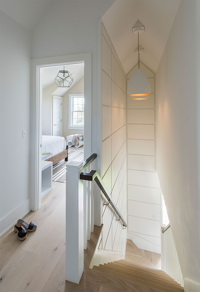 Narrow Staircase Design With Wall Panelling Cynthia