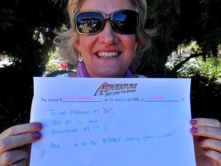 Tanya's entry - Sandton 5:30am #competition #motivate www.facebook.com/AdventureBootCampSA