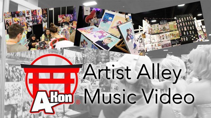 Project: A-Kon 28 (2017): Artist Alley Music Video