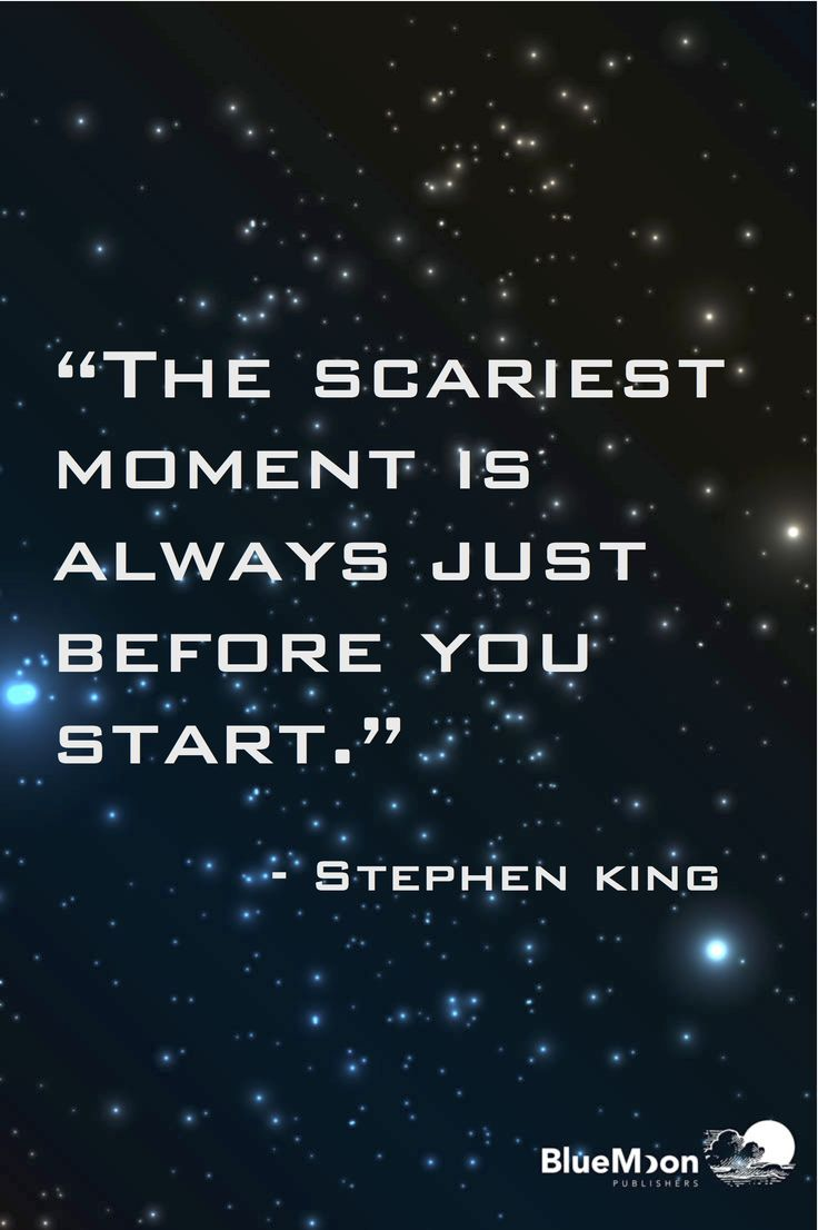 Advice from someone who knows about scary!