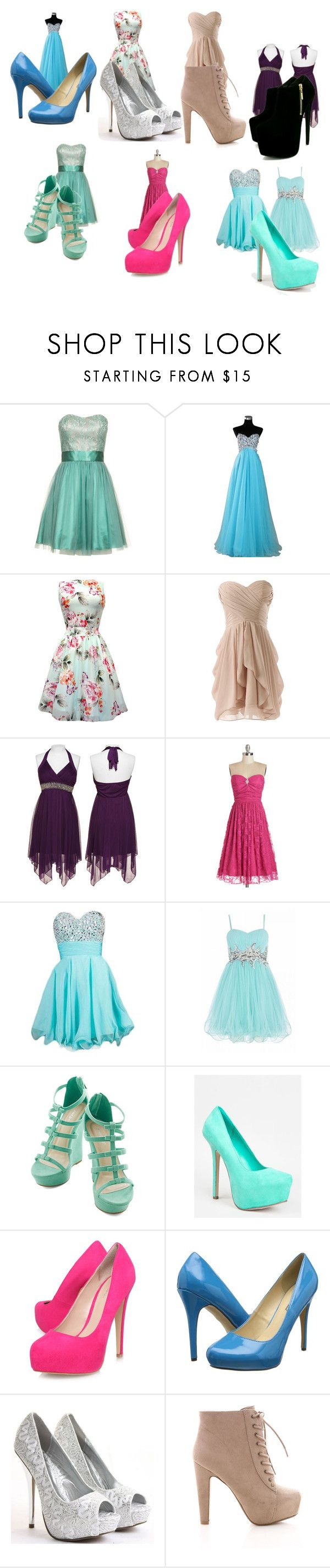 """concert"" by sheryl-4 ❤ liked on Polyvore featuring Laona, Trixxi, Quiz, Breckelle's, Carvela Kurt Geiger, Michael Antonio and Saba"