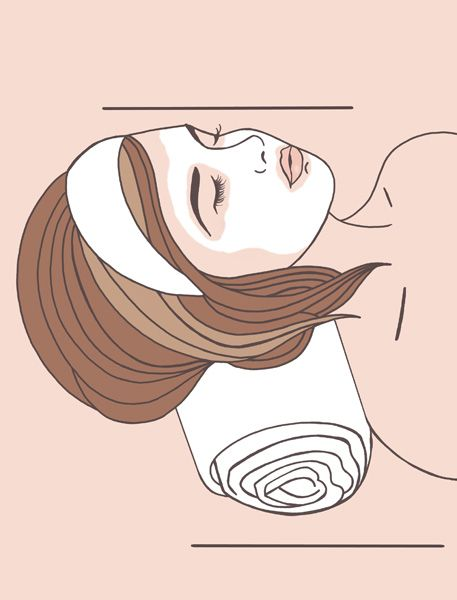 Here is a #FashionIllustration for a #beauty website, Not Just Powder, based in London. This was done as a #WebsiteIllustration  #FashionIllustrators