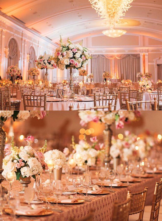 Glamorous Ballroom Wedding from K & K