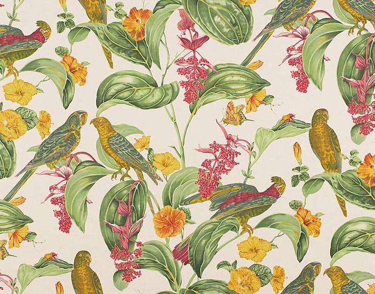 17 best papier peint images on pinterest fabric. Black Bedroom Furniture Sets. Home Design Ideas