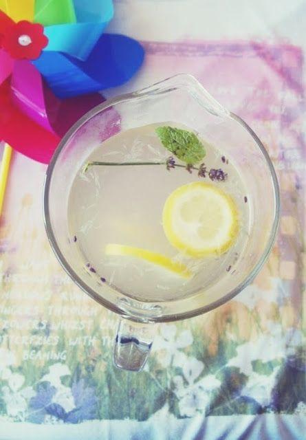 ♥ ugotujmy: lemoniada z miodem i rozmarynem