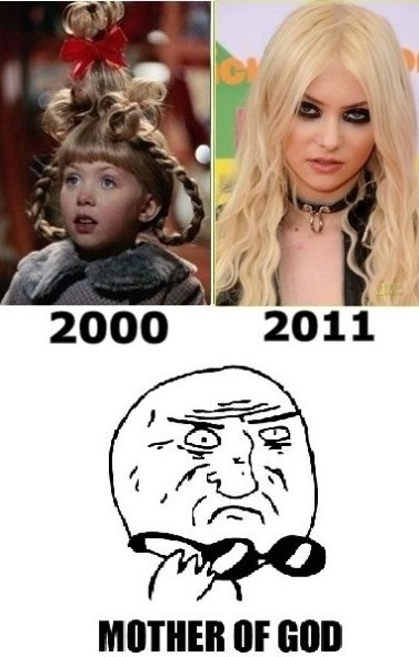 The girl from the grinch movie SMDH what happened to her :/