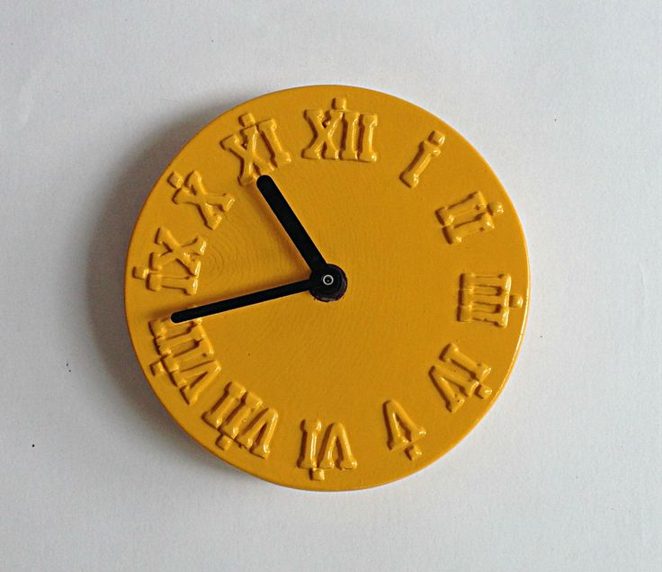 Stunning Yellow Clock