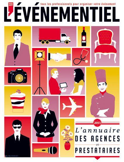 Annuaire 2 en 1 Agences, prestataires, Lieux 2013
