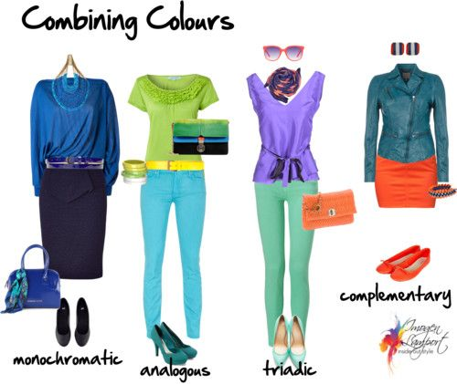 How to Combine Colours Using the Colour Wheel, Imogen Lamport, Wardrobe Therapy, Inside out Style, Blog