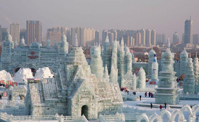 Резное.ру - Ледяные скульптуры (более 100 фото)