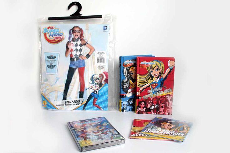 #anzeige Gewinne Superkräfte und #Girlpower mit den #DCSuperHeroGirls von #WarnerBros. Die Verlosung des Fanpakets mit DVD, Büchern, Hörspielen und Original-Kostüm von #HarleyQuinn in Größe S findest Du auf meinem Blog:  http://www.kommandokarottenbrei.de/coole-kostueme-und-geschenkideen/