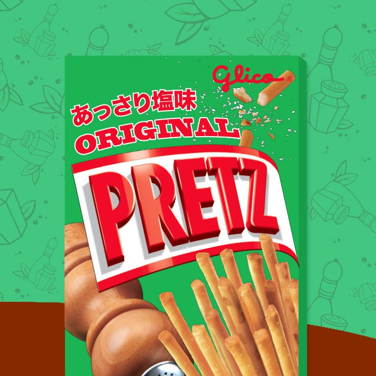 The tasty Pretz, a biscuit stick with a savory crunch. I'm sharing Original Pretz, and you can share in the Pocky Day celebration too! Share along with me for a chance to WIN POCKY PRIZES!