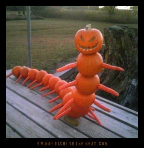 Unique  Halloween decoration.