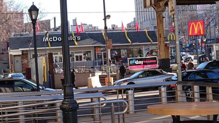 Golden Arches across from the Yankee Stadium