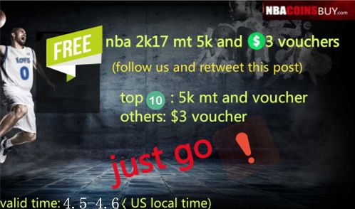 the cheapest price on nbacoinsbuy.com, #nba #2k17 ps4 50k mt #coins are just : $18.69.#free #code: nba2kmt. buy now: http://www.nbacoinsbuy.com/