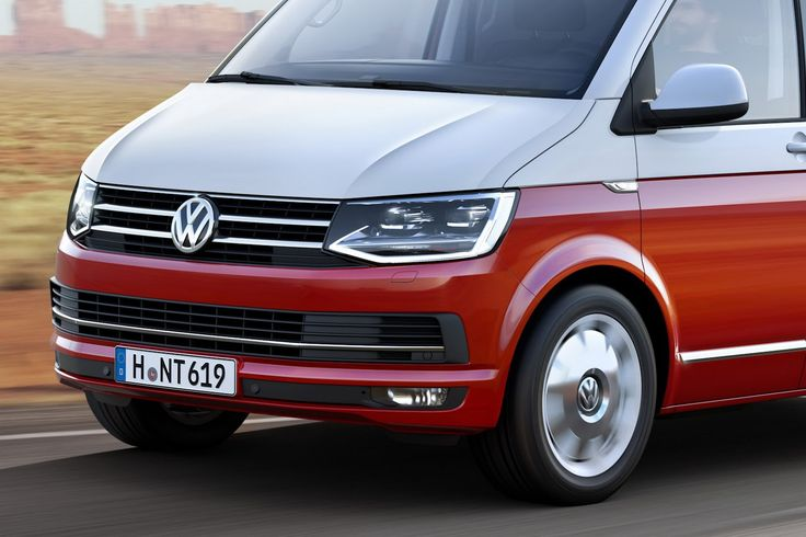 This Is VW's All-New T6 Transporter Van