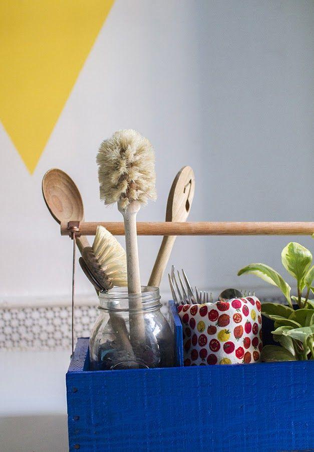 Las 25 mejores ideas sobre organizador de utensilios en for Utensilios decoracion cocina