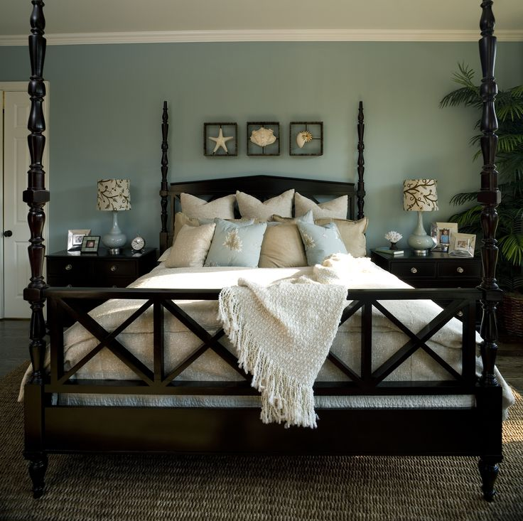 Best Dark Wood Furniture Ideas On Pinterest Benjamin Law - Black and white bedroom with wood furniture