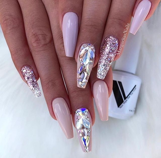 50 Cool Long Nail Designs That Are Easy To Create Unicorn Nails Designs Shiny Nails Designs Unicorn Nail Art