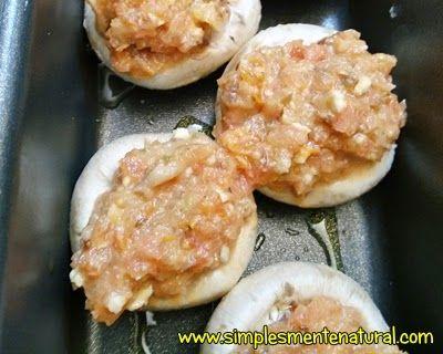 Simplesmente Natural: Ideias para o jantar de S. Valentim #1 - Cogumelos...