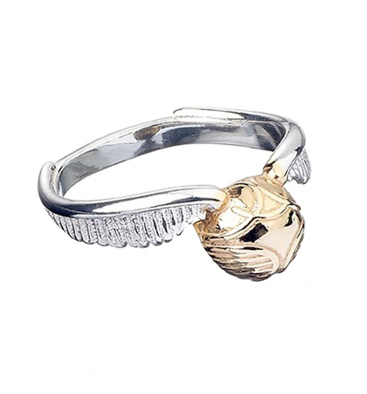 Sterling Silver Harry Potter Golden Snitch Ring : TruffleShuffle.com