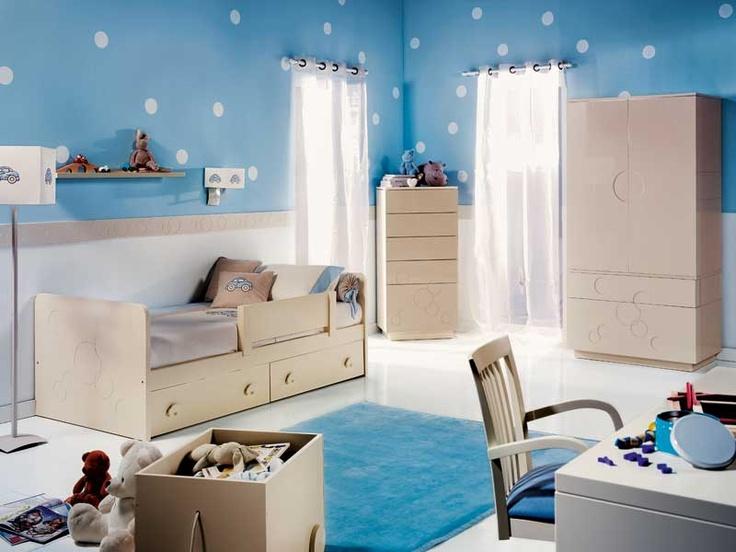 M s de 1000 ideas sobre habitaciones azules para ni as en - Habitaciones infantiles azules ...