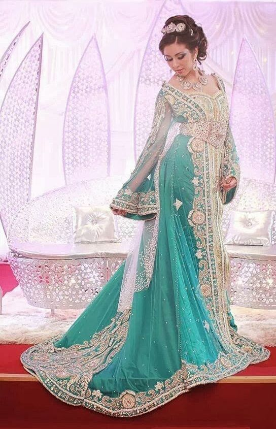 17 meilleures idees a propos de caftan sur pinterest for Robe de mariage orientale