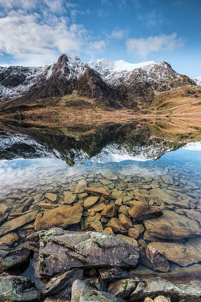 Llyn Idwal, Snowdonia, Wales by John Ormerod http://www.garreggochpark.co.uk/