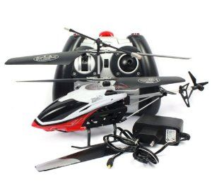 Black,white and Red Cool 2 Channel I/R RC Remote Control Helicopter Kids Toy Gifts by amtonsee@gmail.com. $20.29. Body Material: ABS plastic and alloy.. Function: Up, down, forward, turn left, turn right and with light. A amazing gift for your kid,It will bring your kid lots of fun.. Easy and Convenient to use,Suitable for 14+ year old kids and children.. 100% Brand new and high quality,Quantity: 1pcs.. 1.Dimensions: Approx  ( 26.5 x 6 x 13 )cm (W x L x H) 2.Flight Control: ...