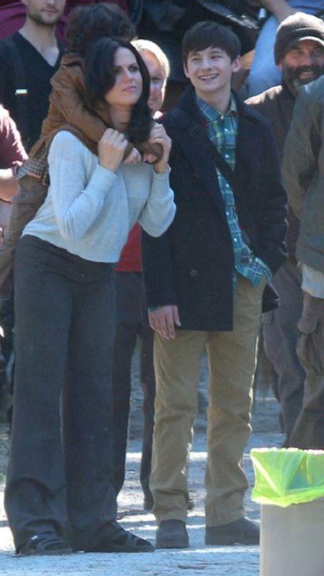 Raphael, Lana, & Jared on set (July 14, 2015)