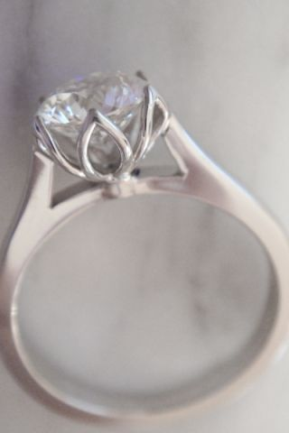 Image result for oval petal solitaire