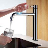 Misturador para cozinha Touch, controle do fluxo de água pelo toque. #torneira #misturador #rhon #cozinha #touch #toque