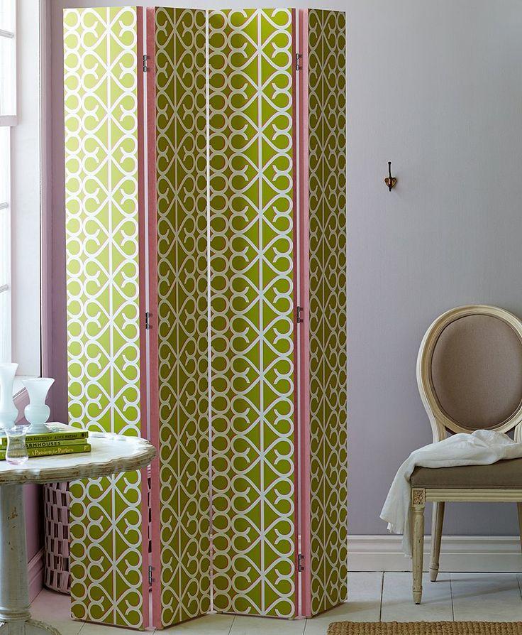 Create a folding screen for Homemade room divider ideas