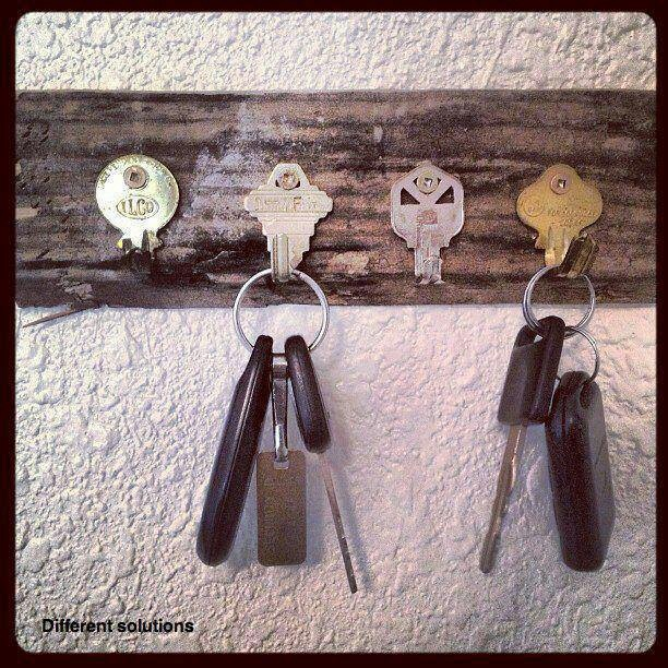 Old keys for hooks