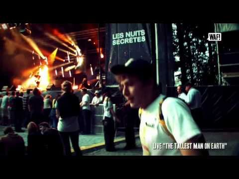 FESTIWAF! LES NUITS SECRETES 2010 - Episode 03   Avec un live de The Tallest Man On Earth