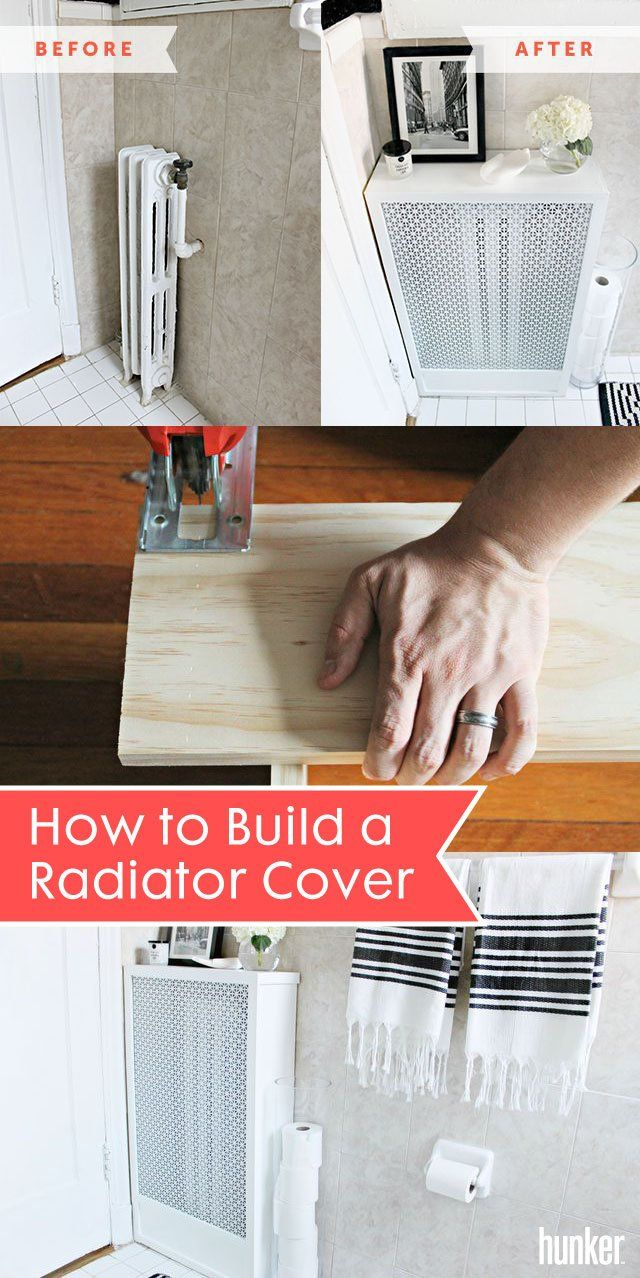 How To Build A Radiator Cover Hunker Radiator Cover Diy