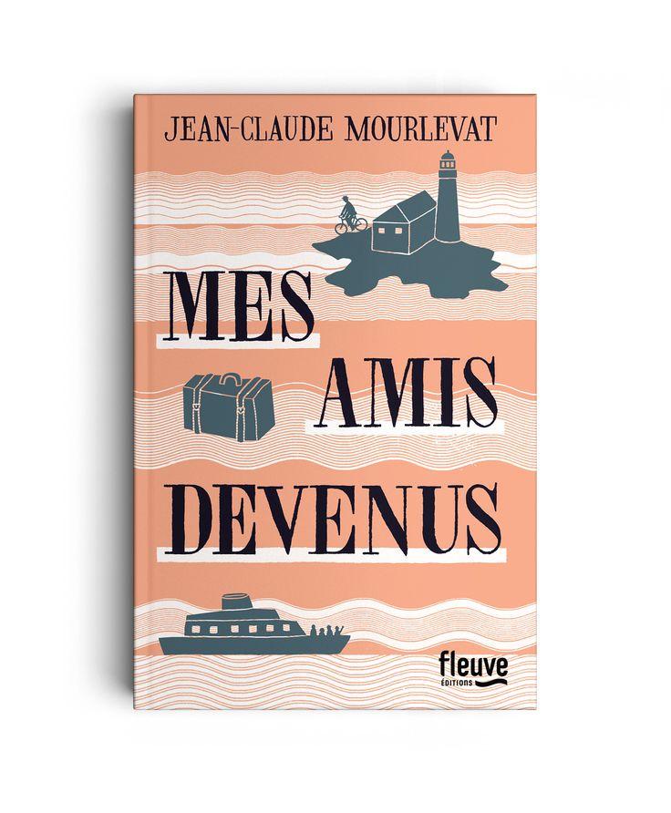 MES AMIS DEVENUS -  LETTERING - Art direction: Marion Tigréat Illustration: Lucia Calfapietra Publisher: Fleuve éditions (France) - Nicolò Giacomin