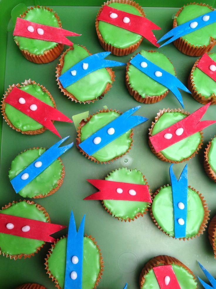 Turtles muffins