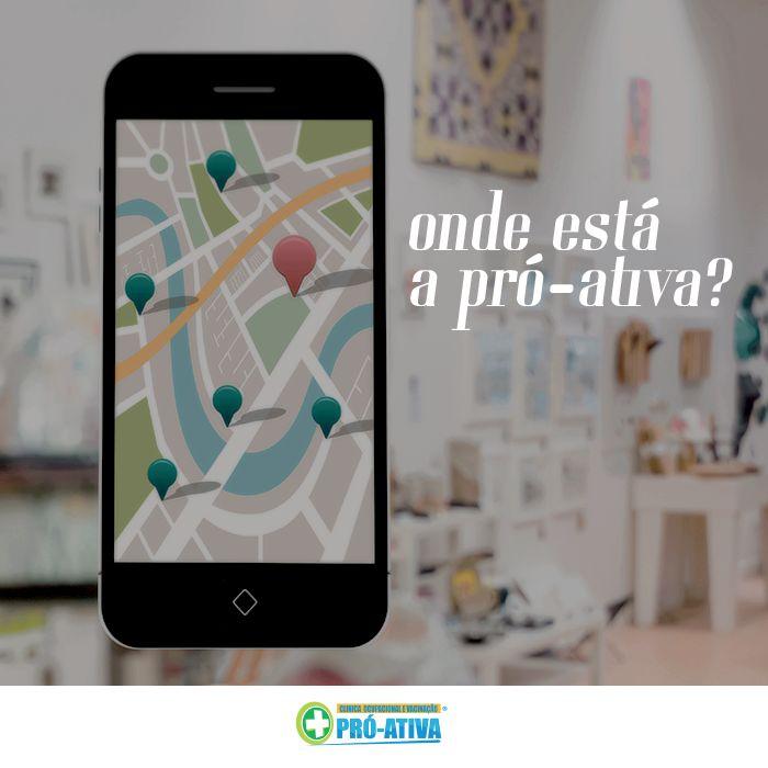Anota aí e venha nós visitar 🏢 Estamos na Rua: Zita Soares de Oliveira, nº 304, 2° Andar, Centro - Ipatinga #ProAtiva #SaúdeOcupacional #Ipatinga