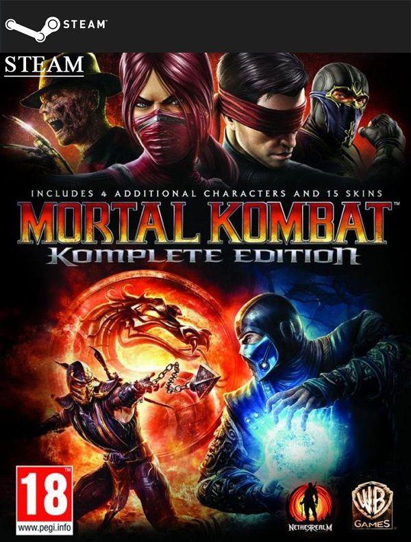 Mortal Kombat Komplete Edition (STEAMGIFT) DIGITAL 7,72€