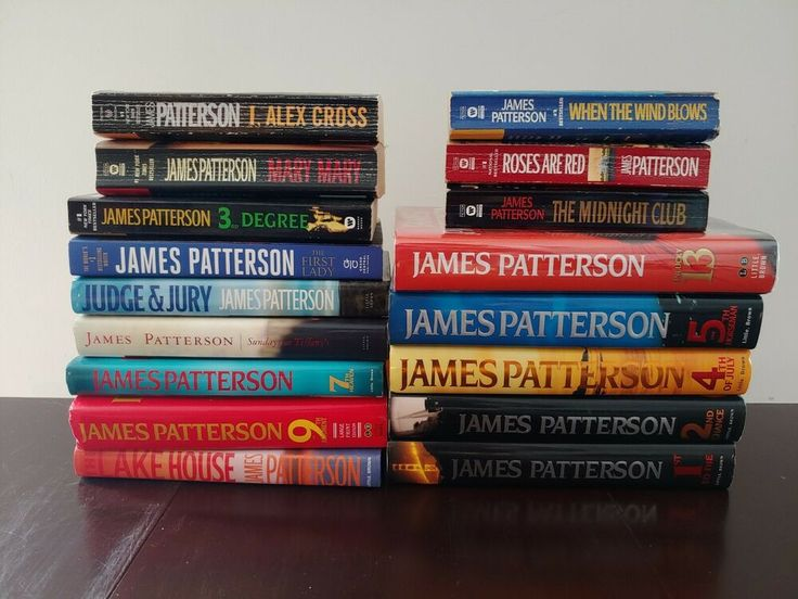 Details about james patterson book lot hard cover