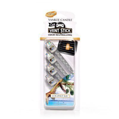 Coconut Bay Vent Sticks Yankee Candle