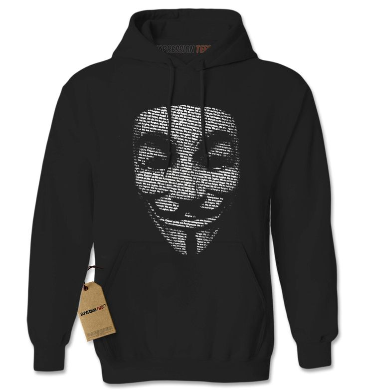 Sweat à capuche Guy Fawkes adulte unisexe à manches longues Sweat à capuche anonyme #9004 Expression T-shirts tendances vêtements par XpressionTees sur Etsy https://www.etsy.com/fr/listing/464334497/sweat-a-capuche-guy-fawkes-adulte