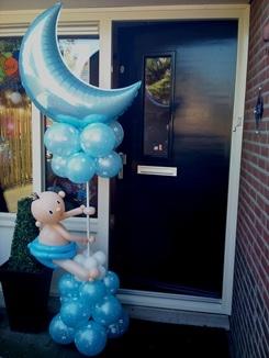 balloon pillar baby